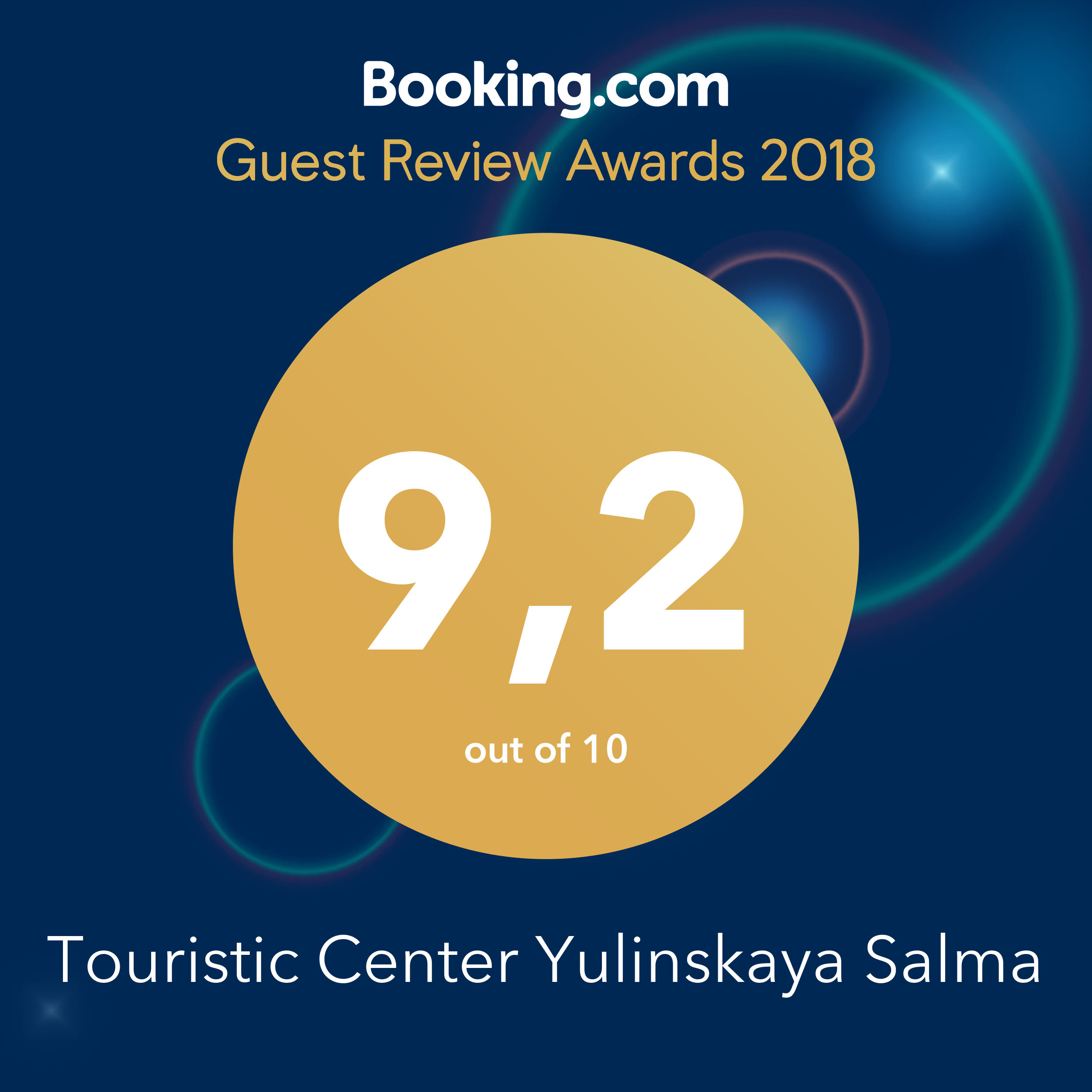 Booking award 2018-award
